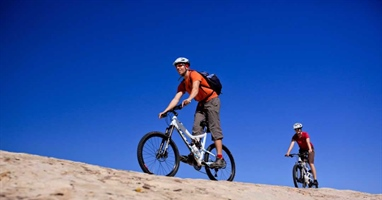 Mountain Biking: Klondike Bluff Tour