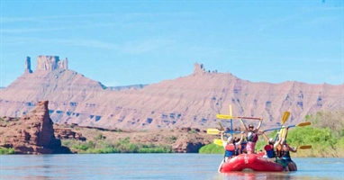 Moab River Full-Day Rafting Adventure with Exclusive BBQ Lunch