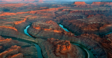 Air Tour of Canyonlands National Park